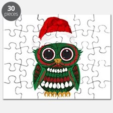 Christmas Owl Puzzle
