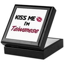 Kiss me I'm Taiwanese Keepsake Box