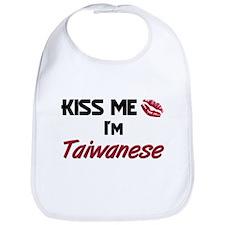 Kiss me I'm Taiwanese Bib