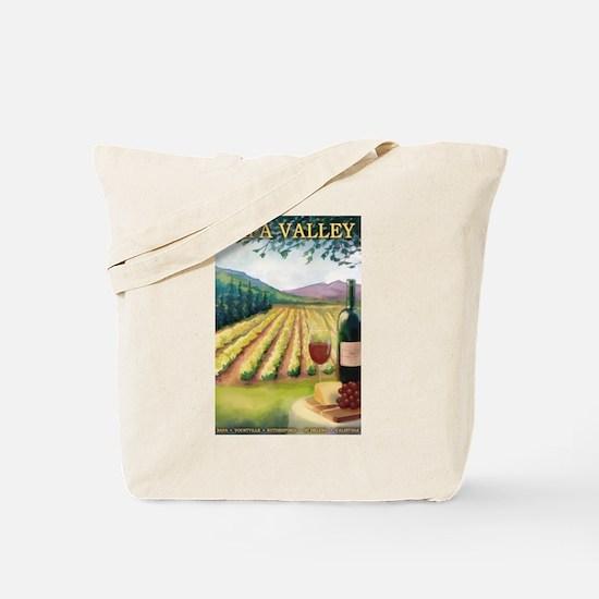 Napa Valley, California - Wine Country Tote Bag