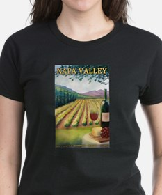 Napa Valley, California - Wine Country T-Shirt