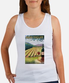 Napa Valley, California - Wine Country Tank Top