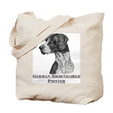 German Shorthaired Pointer Dog Breed Tote Bag
