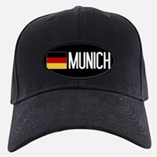 Germany: German Flag & Munich Baseball Hat