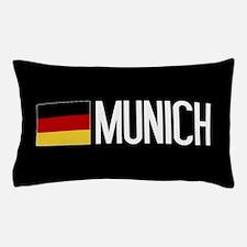 Germany: German Flag & Munich Pillow Case