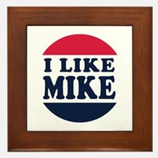 I Like Mike - Mike Pence For Vice Pres Framed Tile
