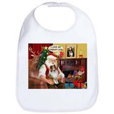 Santa/Sheltie Therapy Bib