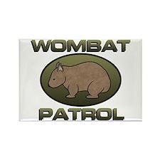 Wombat Patrol II Rectangle Magnet