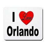 I Love Orlando Mousepad