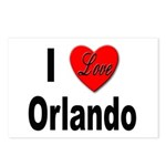 I Love Orlando Postcards (Package of 8)