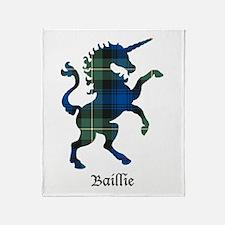 Unicorn - Baillie Throw Blanket
