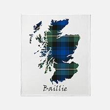 Map - Baillie Throw Blanket
