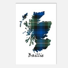 Map - Baillie Postcards (Package of 8)