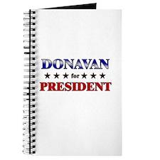 DONAVAN for president Journal