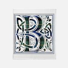 Monogram - Baillie Throw Blanket