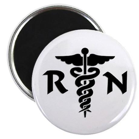 """RN Medical Symbol 2.25"""" Magnet (10 pack)"""