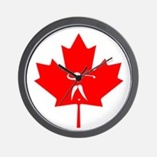 Team Golf Canada Wall Clock