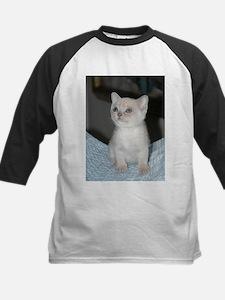 burmese platinum kitten Baseball Jersey