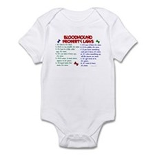 Bloodhound Property Laws 2 Infant Bodysuit