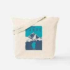 Unique Lake tahoe Tote Bag
