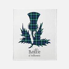 Thistle - Baillie of Polkemett Throw Blanket