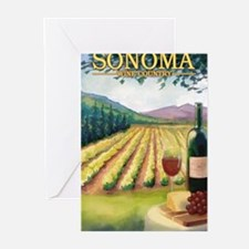 Sonoma County Wine Country Greeting Cards