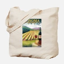 Sonoma County Wine Country Tote Bag