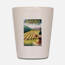 Sonoma County Wine Country Shot Glass