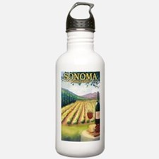Sonoma County Wine Country Water Bottle