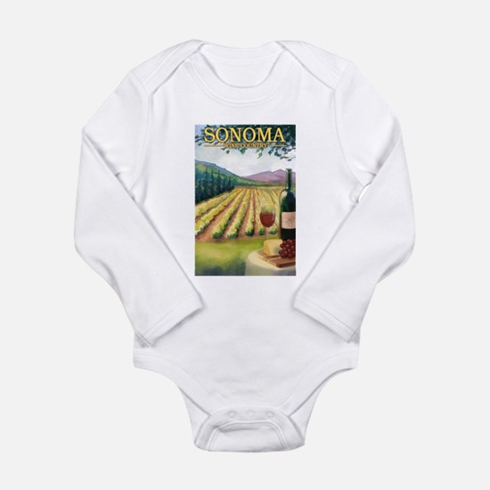 Sonoma County Wine Country Body Suit