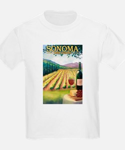 Sonoma County Wine Country T-Shirt