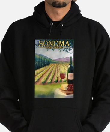 Sonoma County Wine Country Hoodie