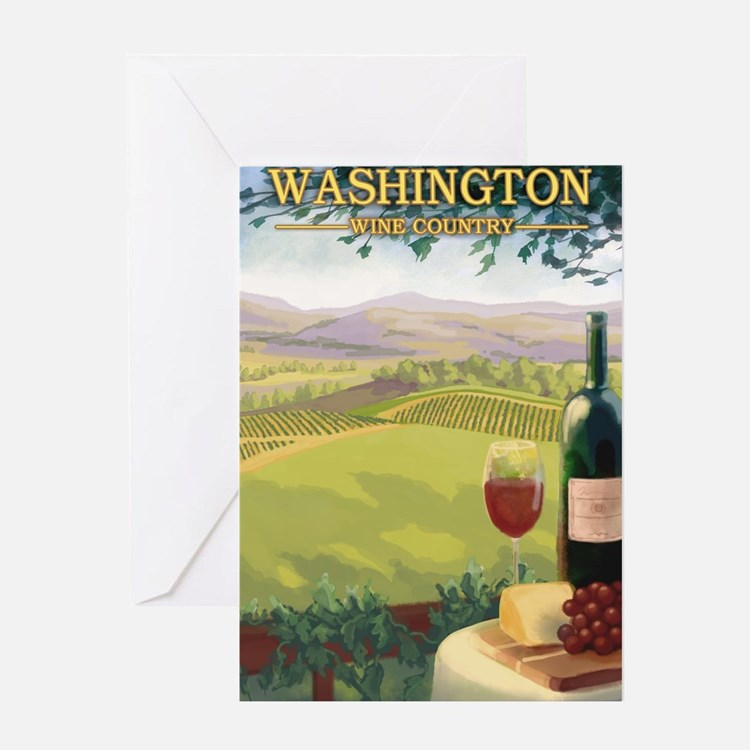 Washington Wine Country Greeting Cards