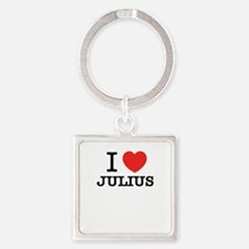 I Love JULIUS Keychains