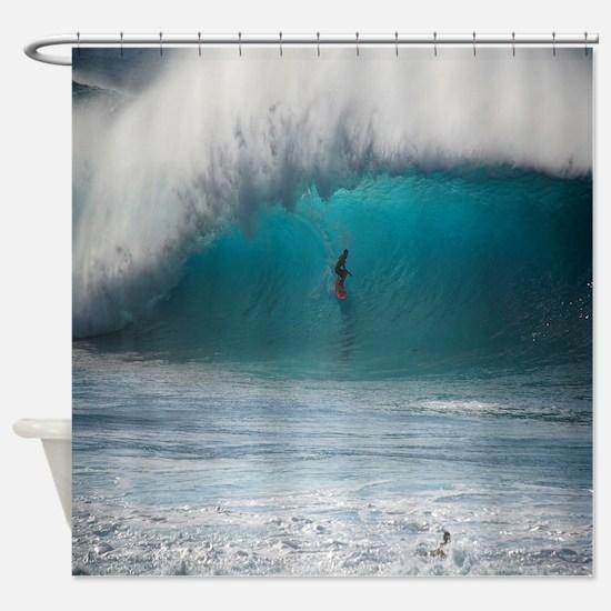 Unique Surf Shower Curtain