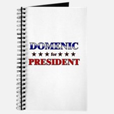 DOMENIC for president Journal