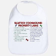 Bluetick Coonhound Property Laws 2 Bib