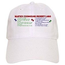 Bluetick Coonhound Property Laws 2 Baseball Cap
