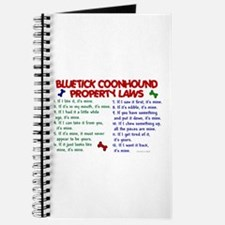Bluetick Coonhound Property Laws 2 Journal