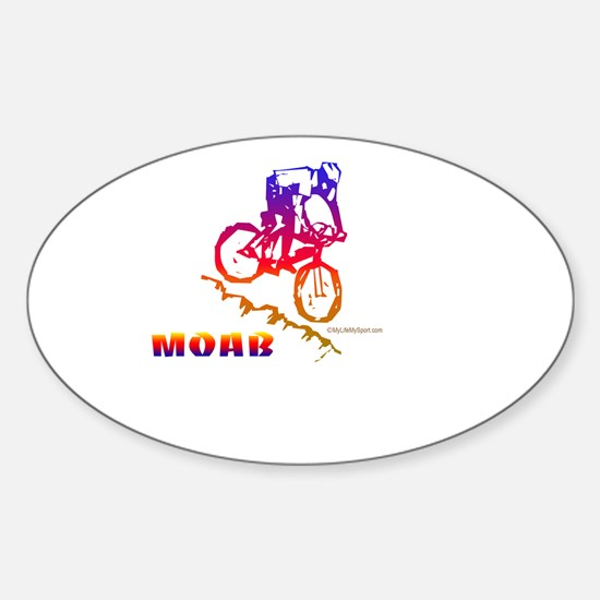 MOAB Oval Decal