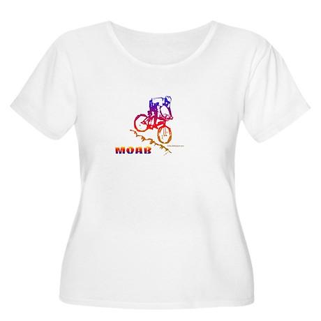 MOAB Women's Plus Size Scoop Neck T-Shirt