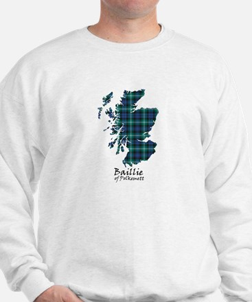 Map - Baillie of Polkemett Sweatshirt