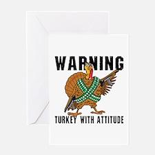 Funny Turkey Greeting Card