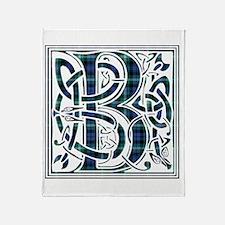 Monogram - Baillie of Polkemett Throw Blanket