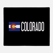 Colorado: Coloradan Flag & Colorado Throw Blanket