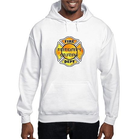 Firefighters Girlfriend Hooded Sweatshirt