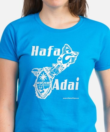 Hafa Adai Women's Dark T-Shirt
