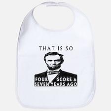 Abe Lincoln Bib