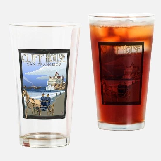 San Francisco, California - Cliff House Drinking G
