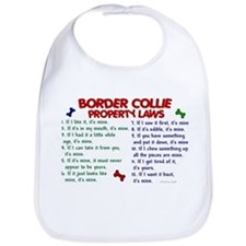 Border Collie Property Laws 2 Bib